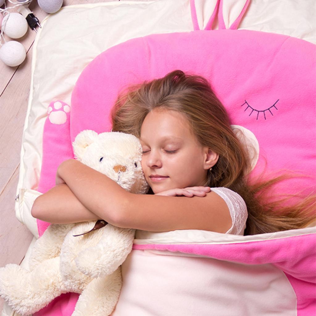 Cліпік Зайка рожевий SleepBaby