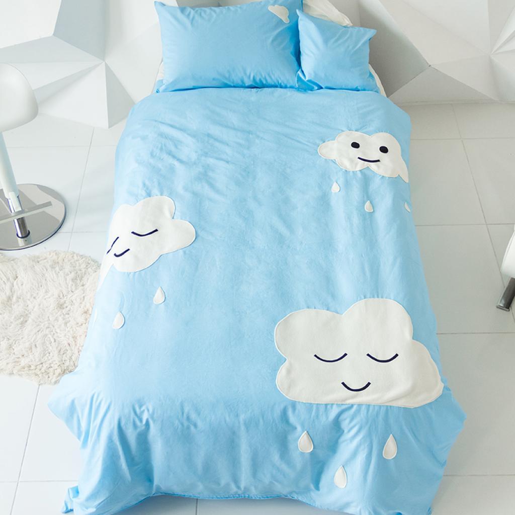"""Постільна білизна """"Хмари"""" SleepBaby"""