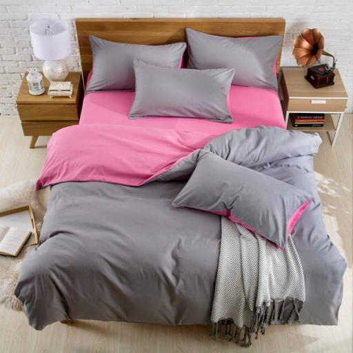 Постільна білизна Pink gray