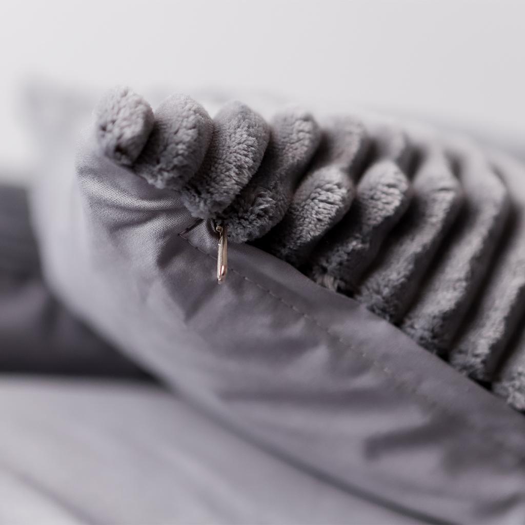 Постільна білизна «Fluffy Gray»