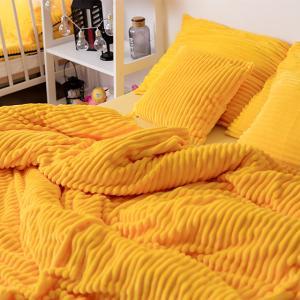 Постільна білизна  «Fluffy yellow»