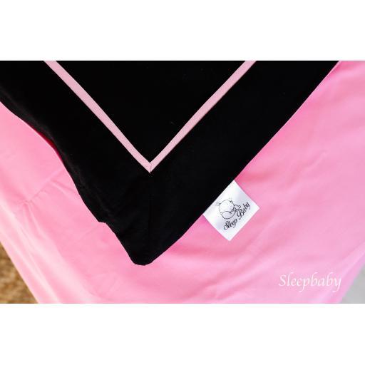 Постільна білизна pink edging