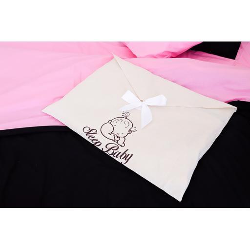 Постільна білизна pink black