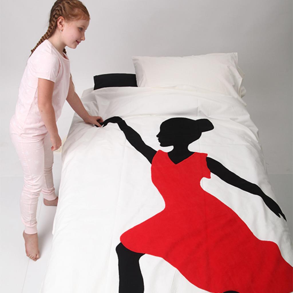 """Постільна білизна """"Танцівниця"""" SleepBaby"""