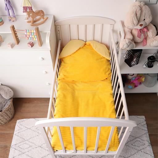 Дитяча постільна білизна Cліпік Жовтий плюшик