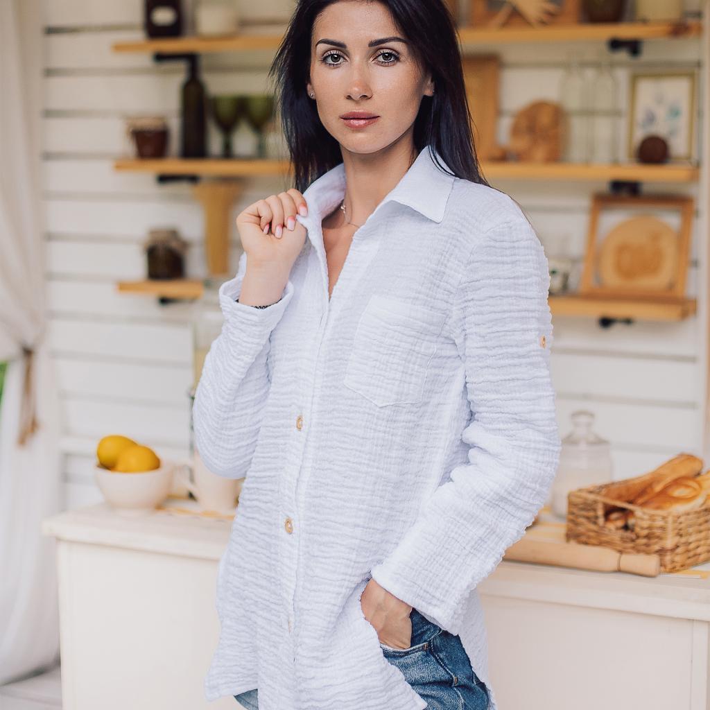 Сорочка жіноча з мусліну