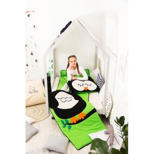 Дитяча постільна білизна Сліпік Сова роз'ємна