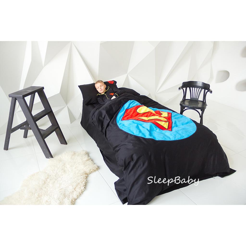 """Постільна білизна """"Супермен"""" SleepBaby"""