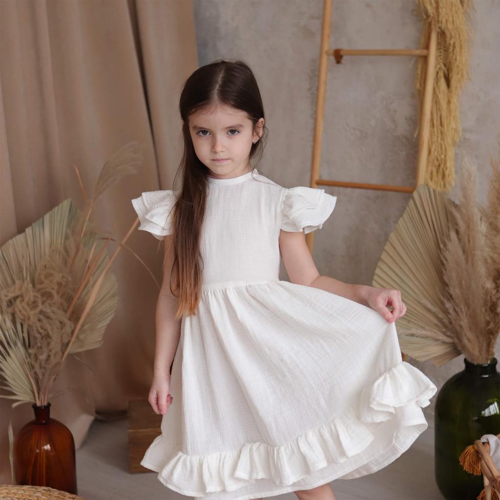 """Дитяча бавовняна сукня """"Зефірка"""""""